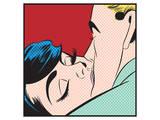 Kissing Couple Iii Art