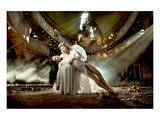 Ballet Dancer & Angel in Ruine Posters