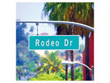 Rodeo Drive Sign Beverly Hills Prints