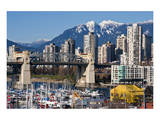 Burrard Bridge VancouverWinter Art