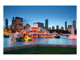 Buckingham Fountain Chicago Posters