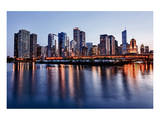 Skyline of Chicago & Navy Pier Prints