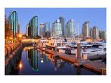 Coal Harbor Marina Vancouver Prints