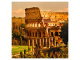 View of Rome Italy - Coliseum Posters