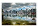 Vancouver from Stanley Park Prints