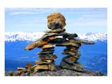 Inukshuk Mount Whistler Canada Prints