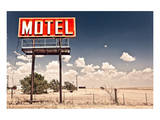 Old Motel Sign On Route 66 USA Prints