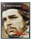 Che Guevara Stamp Argentina'97 Prints