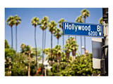 Hollywood Boulevard Sign Prints