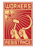 Workers Resistance Poster Prints