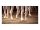 Ballet School Girls on Points Posters