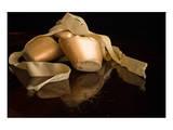 Pink Ballet Pointe Slippers Kunstdruck