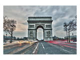 Arc De Triomphe Paris France Poster