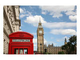 London Big Ben & Phone Booth Art