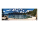 Sand Harbor Panorama Lake Tahoe Art