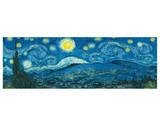 Vincent van Gogh - Starry Night Panorama Speciální digitálně vytištěná reprodukce