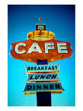 Cafe Sign on Route 66 Arizona Poster