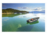 Fishing Boat in Lake Tahoe Poster