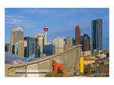 Saddle Dome & Calgary Skyline Prints