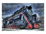 Train Steam Locomotive Prints