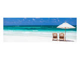 Beach Scene Tulum, Mexico Prints