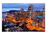 Vancouver Downtown Canada Prints