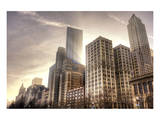 Chicago Downtown Afternoon Premium Giclee Print