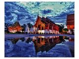 Phra Singh Temple & Chiang Mai Prints