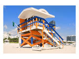 Lifeguard Hut South Beach FL Posters
