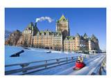 Traditional Slide Ride Quebec Art