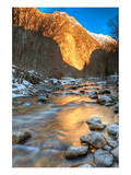 Mountain River in the Alps Prints