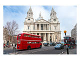 Saint Paul Cathedral London Uk Print