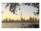 Toronto Cityscape Cent. Island Poster