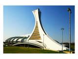 Olympic Stadium in Montreal Prints