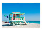 Lifeguard Tower South Beach FL Posters