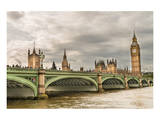 Westminster Bridge Big Ben UK Posters