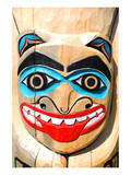 Totem Pole Close Up Print