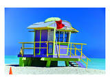 Lifeguard Station Miami Beach Prints