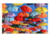 Umbrellas Decor Madrid Getafe Posters