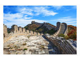 Great Wall Of China and Sky Schilderij