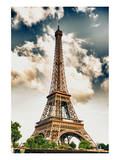 Tour Eiffel Tower Paris France Print