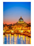 St. Peter Cathedral Rome Italy Poster