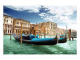 Gondolas In Venice Italy Posters