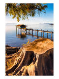 Pier Lake Tahoe Sierra Nevada Prints
