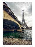 Eiffel Tower Jena Bridge Paris Prints