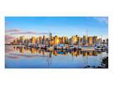 Panorama of Vancouver Skyline Prints