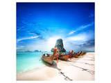 Paradise Island in Thailand Art