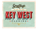 Welcome To Key West Prints
