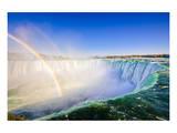 Niagara Falls Rim & Rainbow Art