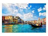 Venice Canal Rialto Bridge Prints